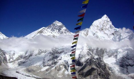 Mount Everest base camp trek Nepal