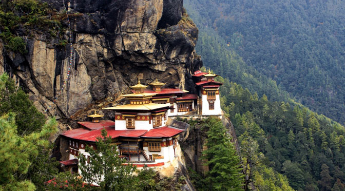 Paro Taktsang or Tiger's Nest Bhutan tours