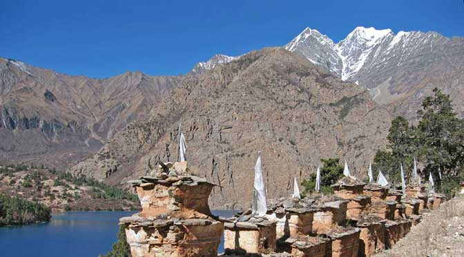 Shey Phoksundo Lake Lower dolpa the Lower dolpo trek