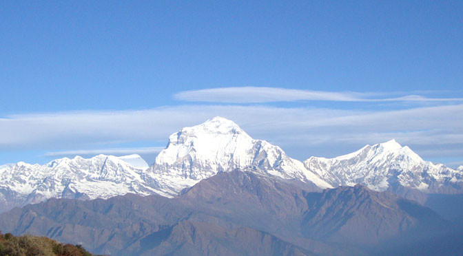 Challenging around Dhaulagiri circuit trek via Italian camp, French Col, Dhaulagiri circuit trek