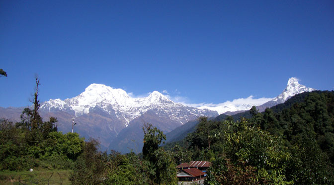 Deurali way to Mardi himal trek