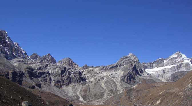 Renjo la pass top Gokyo Renjo la pass trek