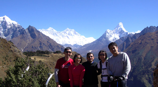 Luxury Everest base camp trek - Mount Everest luxury lodge trek