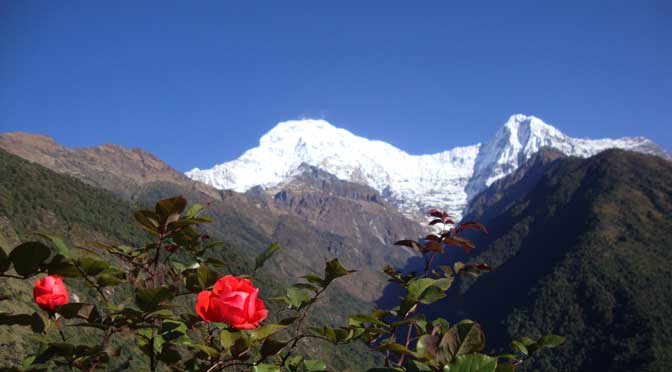 Luxury trek Annapurna Nepal