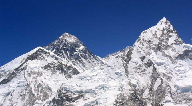 How high is Mount Everest