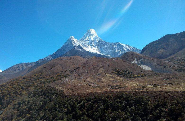 Ama dablam base camp trek khumbu Nepal