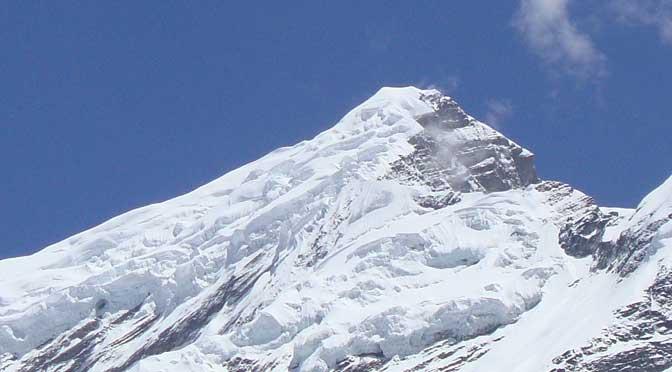 Chulu west peak - Chulu west peak climbing