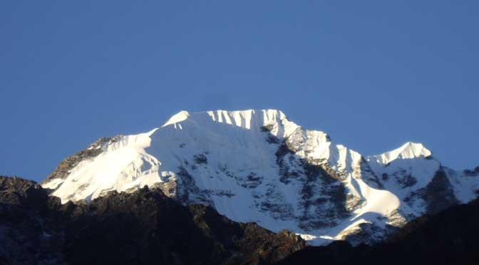 Ganja La Chuli or Naya Kanga peak - Naya kanga peak climbing