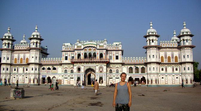 Janki temple or Janakpurdham Travel destinations Nepal