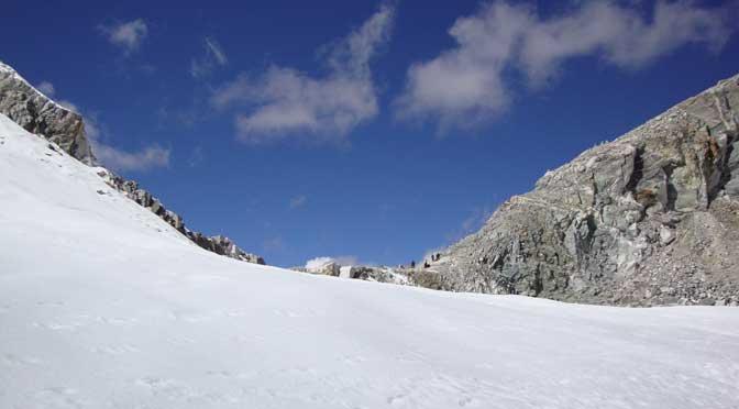 Cho la pass top Everest cho la pass trek