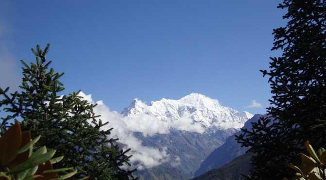 Helambu trek view from Helambu