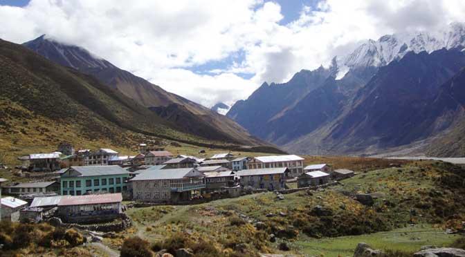 Kyanjin village Langtang helambu trek