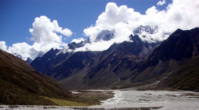 Langtang Nepal Ganja la pass trek