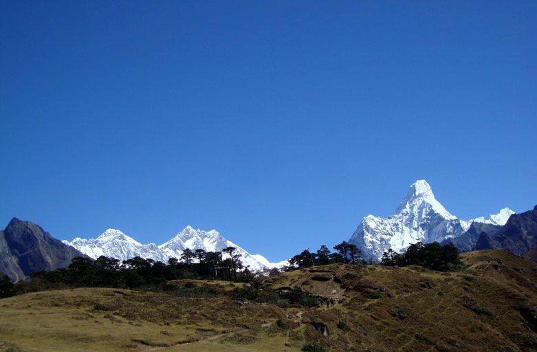 Everest view trek to see best views of Mount Everest panorama