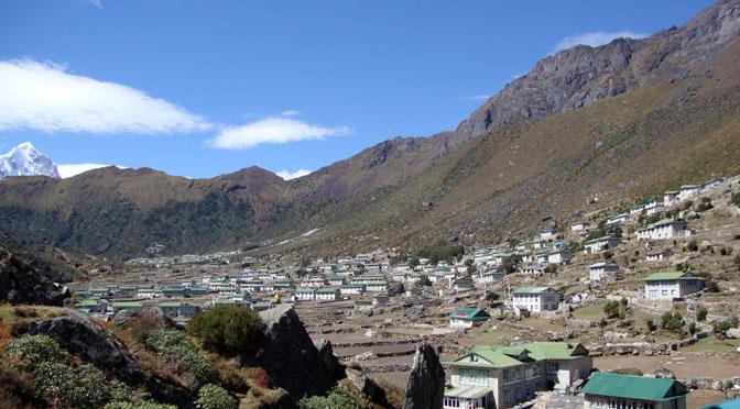 Sherpa village trek Khumjung and Khunde