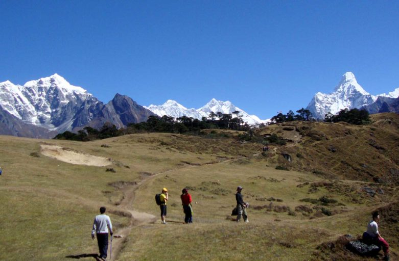 Trekking in Nepal - Everest base camp trek