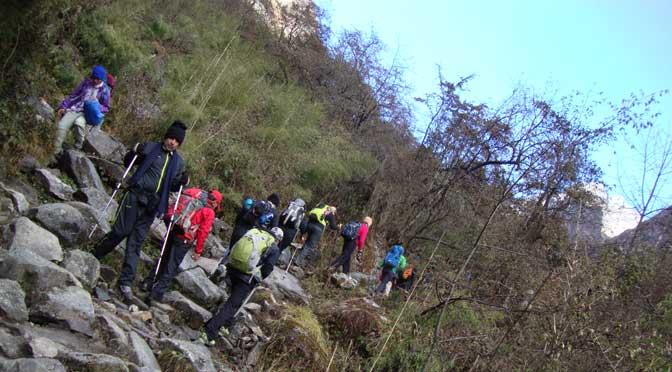 trekking grade Nepal