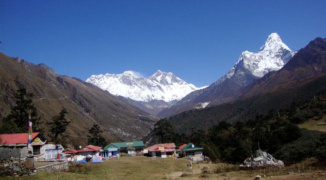 Tengboche Monastery Mani rimdu festival trek