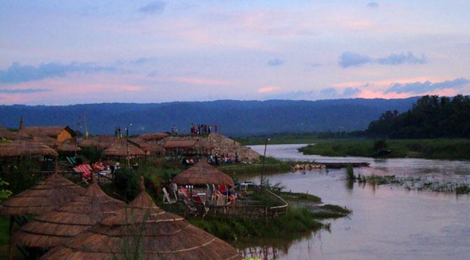 Cottage Chitwan Rapti riverbank Boating and fishing Nepal