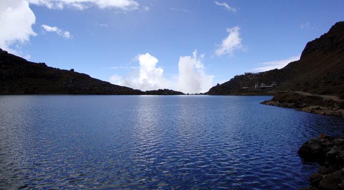 Langtang national park - Gosaikunda lake