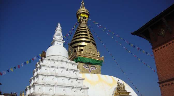 Swayambhunath stupa Kathmandu Nepal